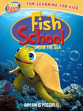 Fish School Under the Sea