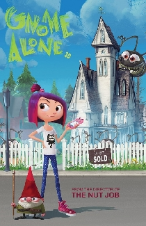 gnome alone 3d film review